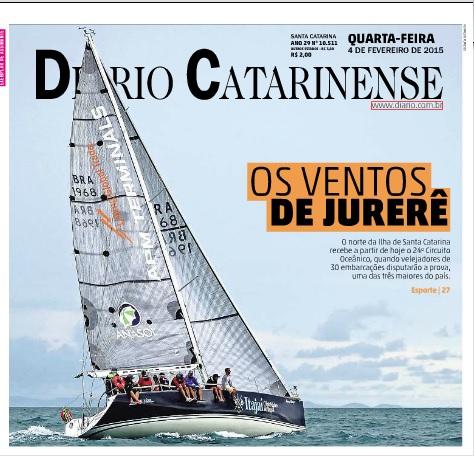 Diario Catarinense - 04-02-2015 - CAPA