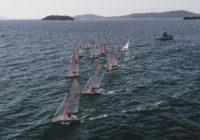 Flotilha de 29er participa da Semana de Monotipos em Ilhabela