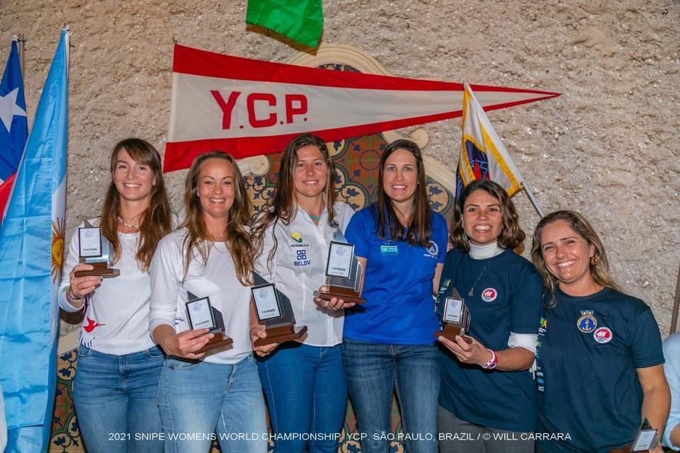 Mundial de Snipe Feminino Veleiros da Ilha